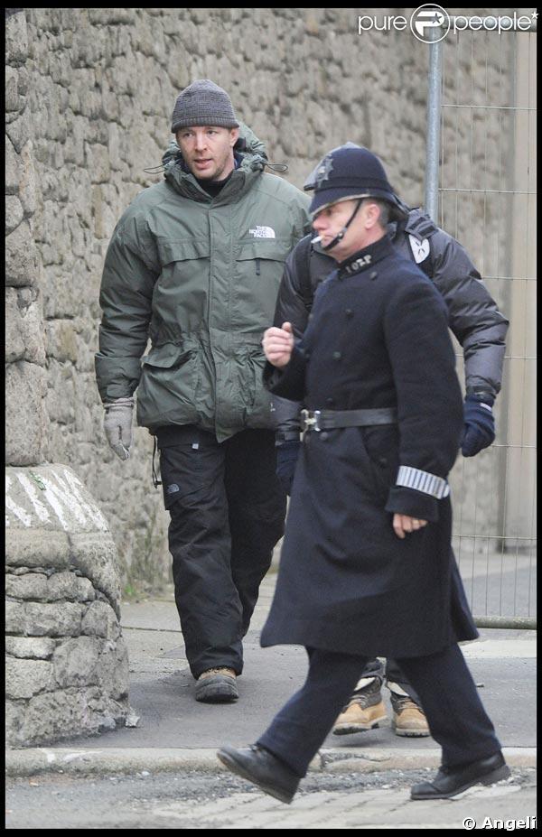 Guy Ritchie sur le tournage de son 'Sherlock Holmes'