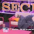 """Episode de """"Secret Story 10"""" sur NT1. Le 30 août 2016."""