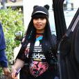 Blac Chyna enceinte est allée déjeuner avec des amis à Los Angeles, le 24 mai 2016