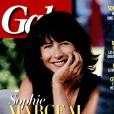 Sophie Marceau en couverture de Gala, en kiosques le 31 août 2016.