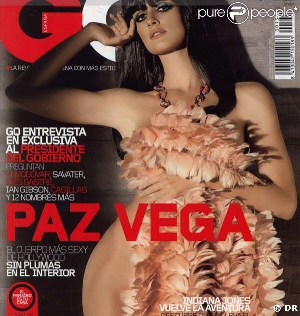 Paz Vega pour GQ Espagne
