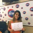 Karine Ferri se mobilise pour la promotion de En Coloc, la nouvelle web-série de Capucine Anav, qui sera diffusée sur Youtube, le 4 septembre prochain. Image publiée sur Instagram au mois d'août 2016