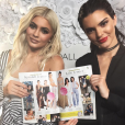 Kendall et Kylie Jenner présentent la nouvelle collection de leur ligne de vêtements à New York, le 7 septembre 2016