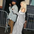 Tyga et sa petite amie Kylie Jenner à la soirée Samsung Pop Up Store à New York, le 7 septembre 2016 © Nancy Kaszerman via Zuma/Bestimage