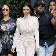 Kim Kardashian quitte son appartement à New York City, New York, Etats-Unis, le 7 septembre 2016. © Agence/Bestimage
