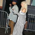 Kylie Jenner et son chéri Tyga arrivent à leur hôtel à New York, le 7 septembre 2016