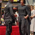 Usher et Kelly Rowland -Usher inaugure son étoile sur le Walk of Fame à Hollywood, le 7 septembre 2016.