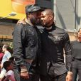 Usher et will.i.am -Usher inaugure son étoile sur le Walk of Fame à Hollywood, le 7 septembre 2016.