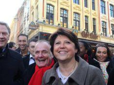 Martine Aubry, vient d'être déclarée vainqueur : elle est Premier secrétaire du PS ! Martine.. on va s'occuper de votre look !