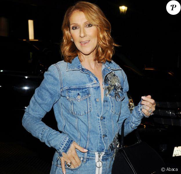 La star québécoise Céline Dion à Los Angeles, le 8 septembre 2016