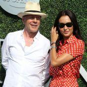 Bruce Willis et Jason Biggs font le show avec leurs femmes, Gaël Monfils sifflé