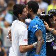 Novak Djokovic a dominé Gaël Monfils en demi-finale de l'US Open le 9 septembre 2016. © Abacapress / Louis Lanzano