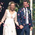 Paul-Henri Mathieu et sa compagne Quiterie, rescapée du cancer, se sont mariés le week-end du 10 septembre 2016 à Bourron-Marlotte en Seine-et-Marne. Photo Instagram.