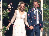 """Paul-Henri Mathieu s'est marié avec Quiterie, """"une journée magique"""""""