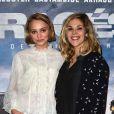 """Lily-Rose Depp et Alysson Paradis - Avant-Première du film """"Les Enragés"""" au cinéma UGC Les Halles à Paris le 28 septembre 2015."""