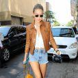 Gigi Hadid se promène dans les rues de New York, le 4 septembre 2016