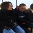 """Jean-Paul et ses prétendantes Marie et Olivia - """"L'amour est dans le pré 2016"""" sur M6. Le 22 août 2016."""