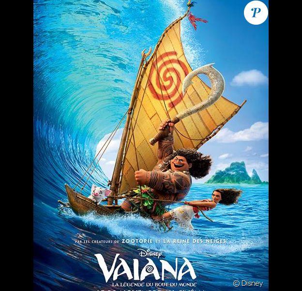 Affiche du film Vaiana - La Légende du bout du monde, en salles le 30 novembre 2016