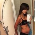 Hilaria Thomas montre son corps 24h après l'accouchement (photo postée le 14 septembre 2016)