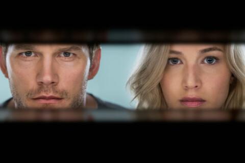 """Jennifer Lawrence et Chris Pratt s'embrassent dans """"Passengers"""" mais pas que..."""