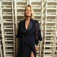 Estelle Lefébureau défilé Haute Couture Alexis Mabille Printemps-Eté 2016 à Paris le 25 janvier 2016