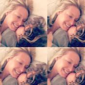 Estelle Lefébure : Instant tendre et inédit avec son fils Giuliano