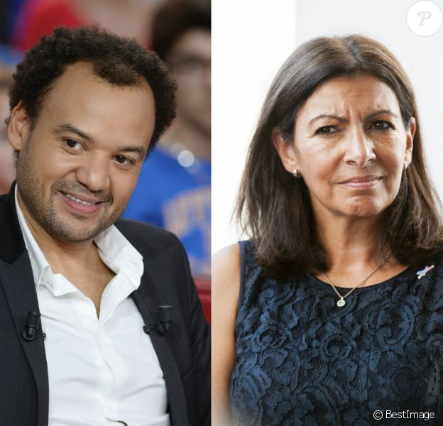 Fabrice Eboué vs Anne Hidalgo