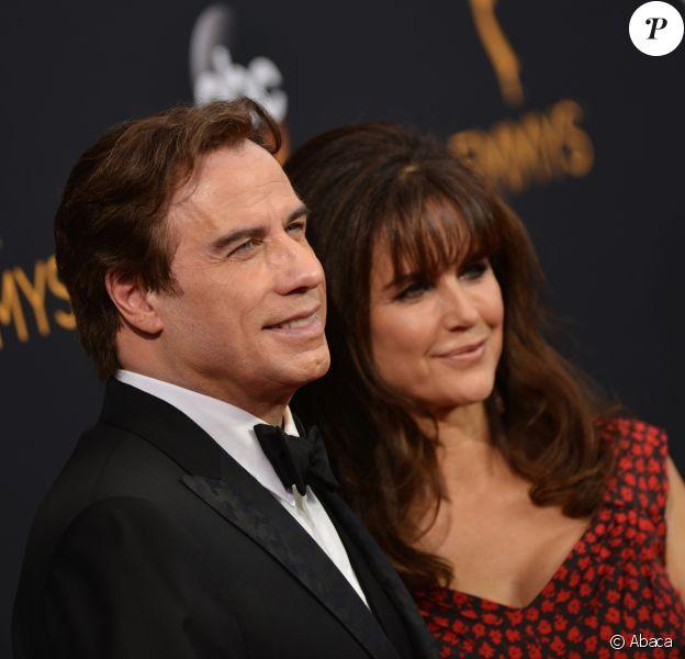 John Travolta- 68ème cérémonie des Emmy Awards au Microsoft Theater à Los Angeles, le 18 septembre 2016.