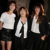 Saint Laurent : Jane Birkin, Lou Doillon et Charlotte Gainsbourg au rendez-vous