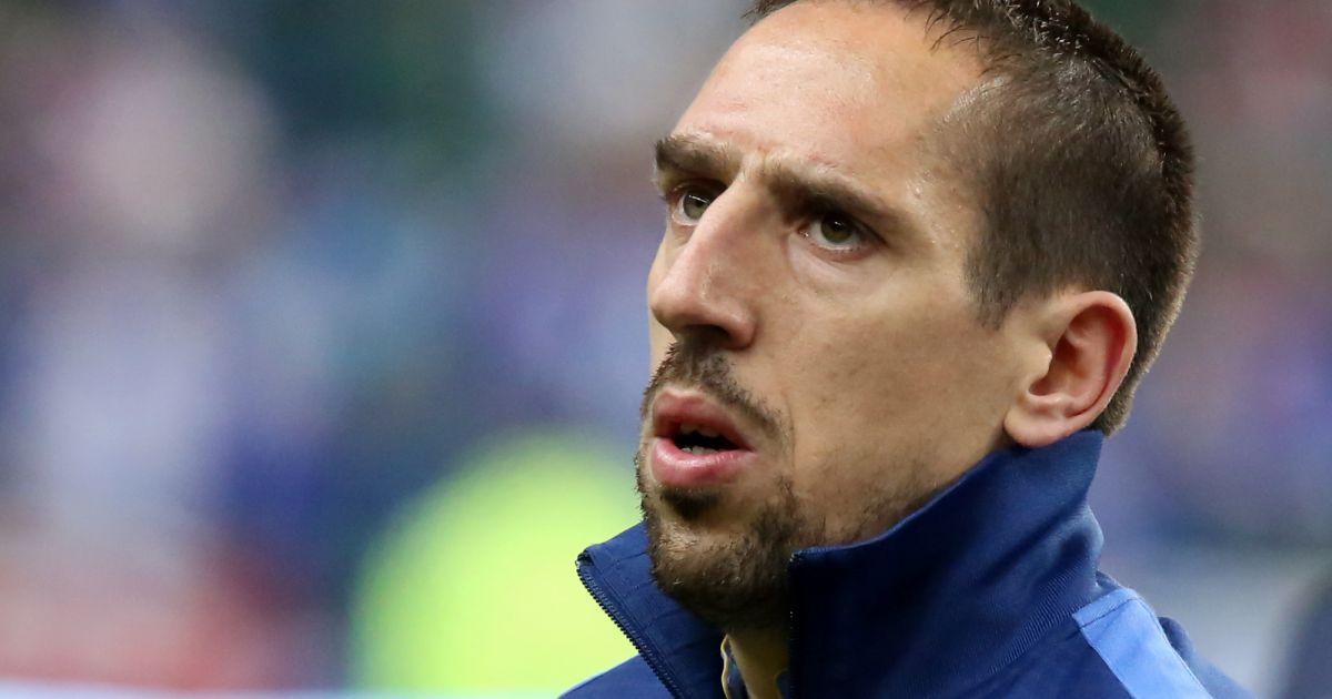 Franck ribery l 39 equipe de france de football s 39 est - Prochaine coupe du monde de football ...