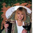 Mireille Darc à Bordeaux - Soirée Vinexpo en 1999