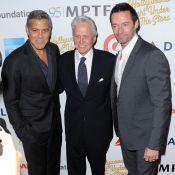 Kirk Douglas, bientôt 100 ans: Son fils Michael et George Clooney le célèbrent