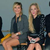 Fashion Week : Marilou Berry et Bérengère Krief, tout sourire chez agnès b.