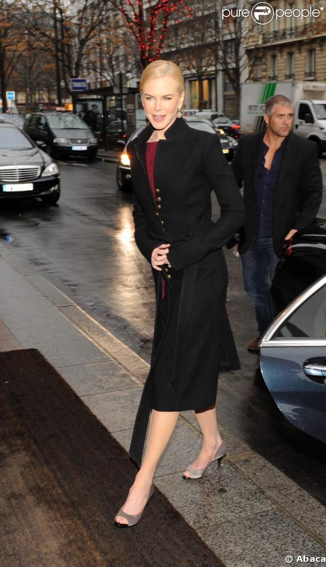 Nicole Kidman est à Paris