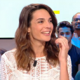 "Ornella Fleury moquée en direct dans le ""Grand Journal"" de Canal+. Le 13 septembre 2016."