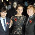Daniel Radcliffe, Emma Watson et Rupert Grint - Avant-première de Harry Potter et les Reliques de la mort (partie I) à Londres le 11 novembre 2010