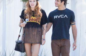 Bella Thorne : Câlin torride dans une piscine avec son chéri Tyler Posey