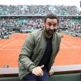 Cyril Hanouna - People dans les tribunes lors du Tournoi de Roland-Garros (les Internationaux de France de tennis) à Paris, le 29 mai 2016. © Dominique Jacovides/Bestimage