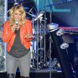 La chanteuse Anastacia donne un concert lors du Monte-Carlo Sporting Summer Festival à Monaco, le 13 août 2015.