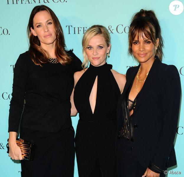 Jennifer Garner, Reese Witherspoon, Halle Berry- Soirée de réouverture de la boutique Tiffany & Co. à Beverly Hills le 13 octobre 2016
