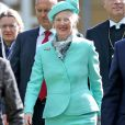 La reine Margrethe II de Danemark à Wittenberg, en Allemagne, le 2 octobre 2016.