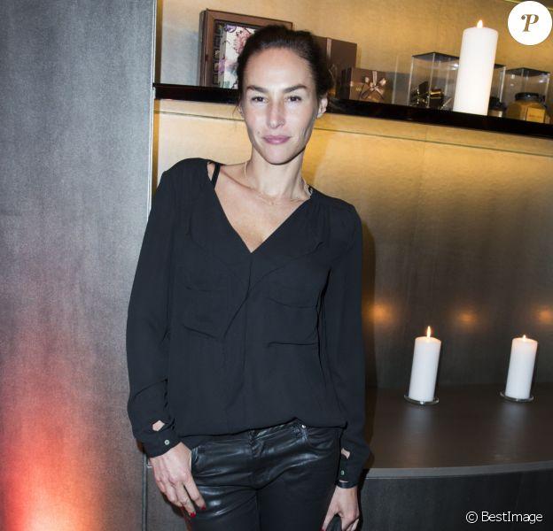 Vanessa Demouy lors de la soirée de réouverture de l'Emporio Armani Caffé au 149 boulevard Saint-Germain à Paris, le 13 octobre 2016