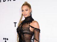 Beyoncé, déesse très glamour : Même blessée, elle assure le show !