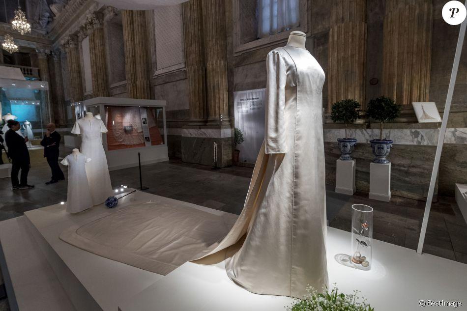 robe de mariage dior de la reine silvia de su de lors de l