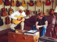 Johnny Hallyday et Yodelice : De l'amour et de la country, nouvel album annoncé