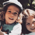 Emmanuelle Seigner poste une vieille photo de ses enfants Morgane et Elvis Polanski