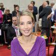 Sidonie Bonnec - Conference de presse de rentree de RTL a Paris le 10 septembre 2013.