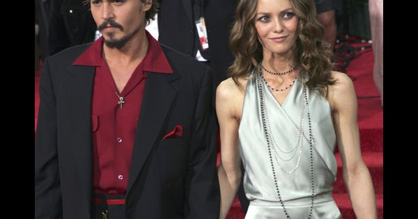 vanessa paradis et son compagnon johnny depp au festival de cannes. Black Bedroom Furniture Sets. Home Design Ideas