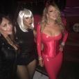 Mariah Carey fête Halloween en avance avec son amie Tamar Braxton. Photo publiée sur Instagram, le 23 octobre 2016