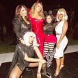 Mariah Carey et ses copines lors de sa soirée d'Halloween. Photo publiée sur Instagram le 24 octobre 2016